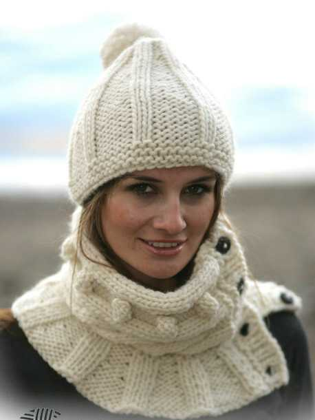 Knitted Hat Patterns For Ladies : free knitting pattern: womens knit beret models