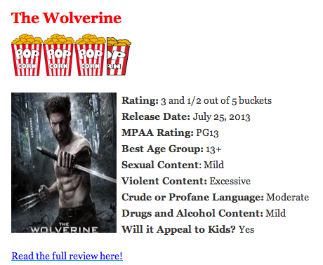 Movie review sites for parents