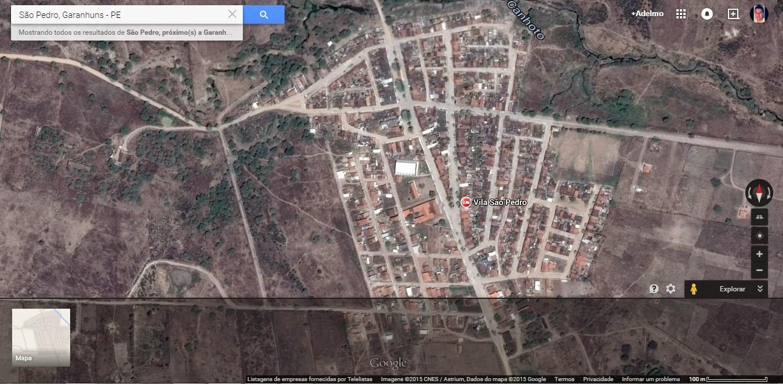 PROJOVEM CAMPO SABERES DA TERRA GARANHUNSPE DISTRITOS DE - Garanhuns map