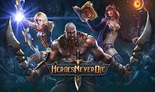 Screenshots of the Heroes never die for Android tablet, phone.
