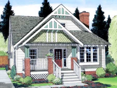 The American Bungalow House Plans
