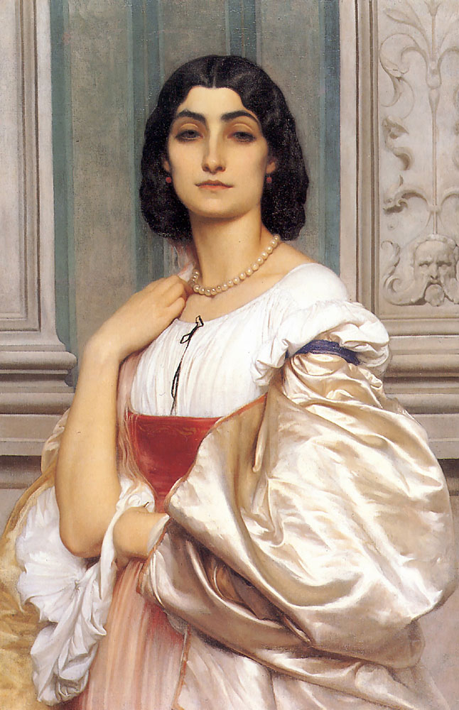 lord frederick leighton roman lady