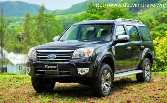 Cho thuê xe 7 chỗ Ford Everest dài hạn