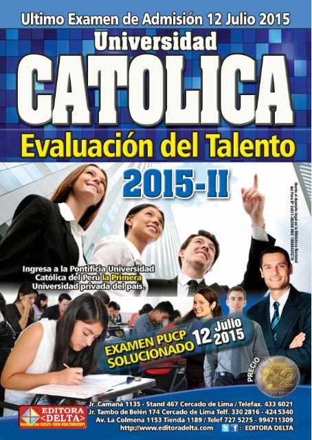 Examen Católica 2015-2