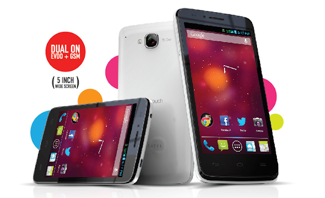 SmartFren Alcatel One Touch D920, Spesifikasi, Harga, Hp Android Jelly Bean, Dual Core, Murah