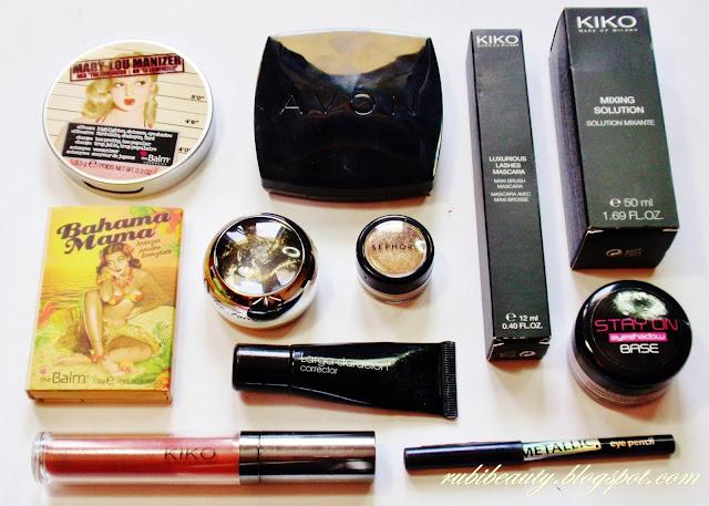 Rubibeauty tutorial makeup look maquillaje noche gold night star paso a paso productos utilizados