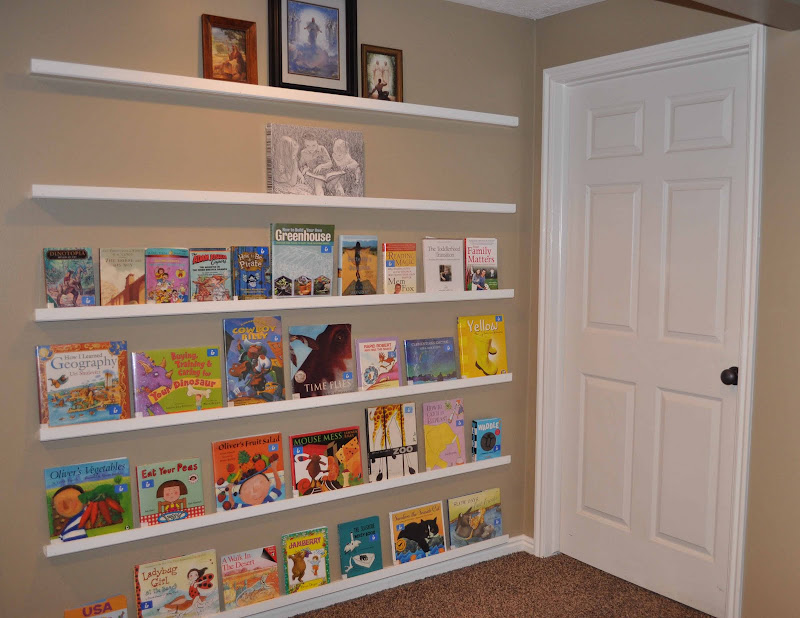 Face Out Book Shelf