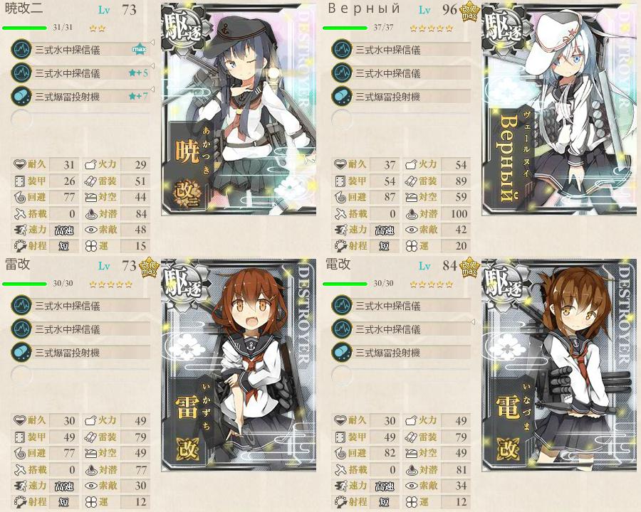 対潜 艦これ