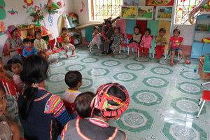 Bum Tở kindergarten in Mường Tè