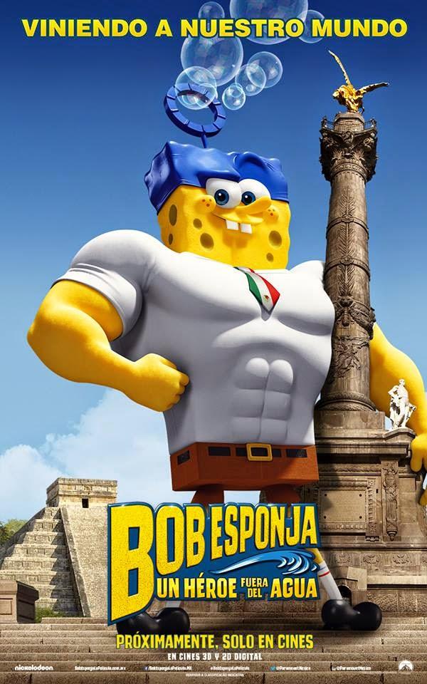 Spongebob movie sponge out of water poster