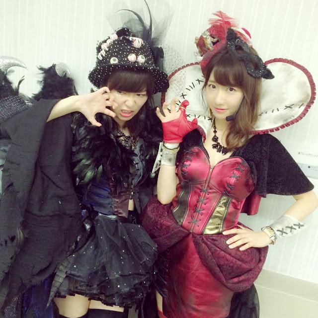 AKB48 Sashihara Rino & Kashiwagi Yuki Halloween Night 01