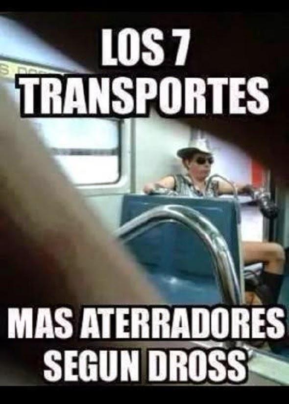 Los 7 transportes