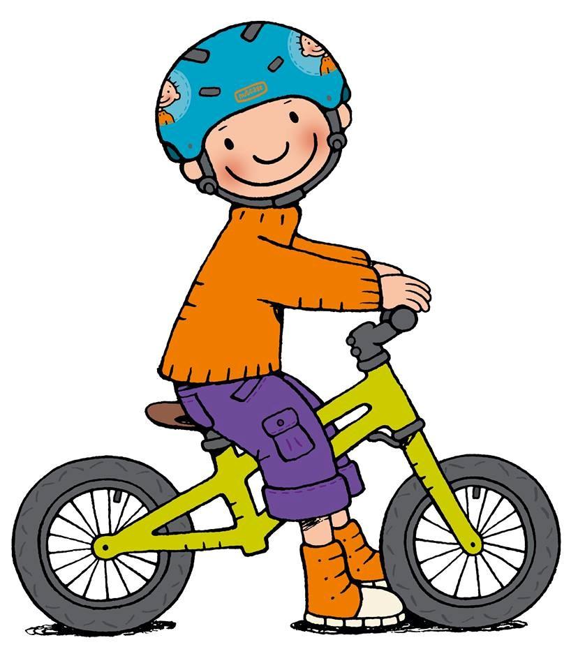 Op volgende data mag de loopfiets en helm mee naar school komen.