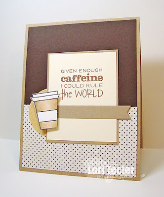 Given Enough Caffeine card-designed by Lori Tecler/Inking Aloud-stamps from Verve Stamps