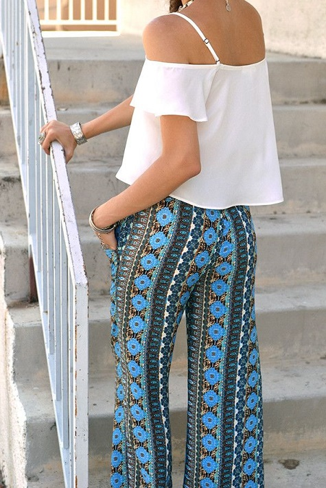 The Peak of Tres Chic: Currently Coveting: Wide Leg Pants