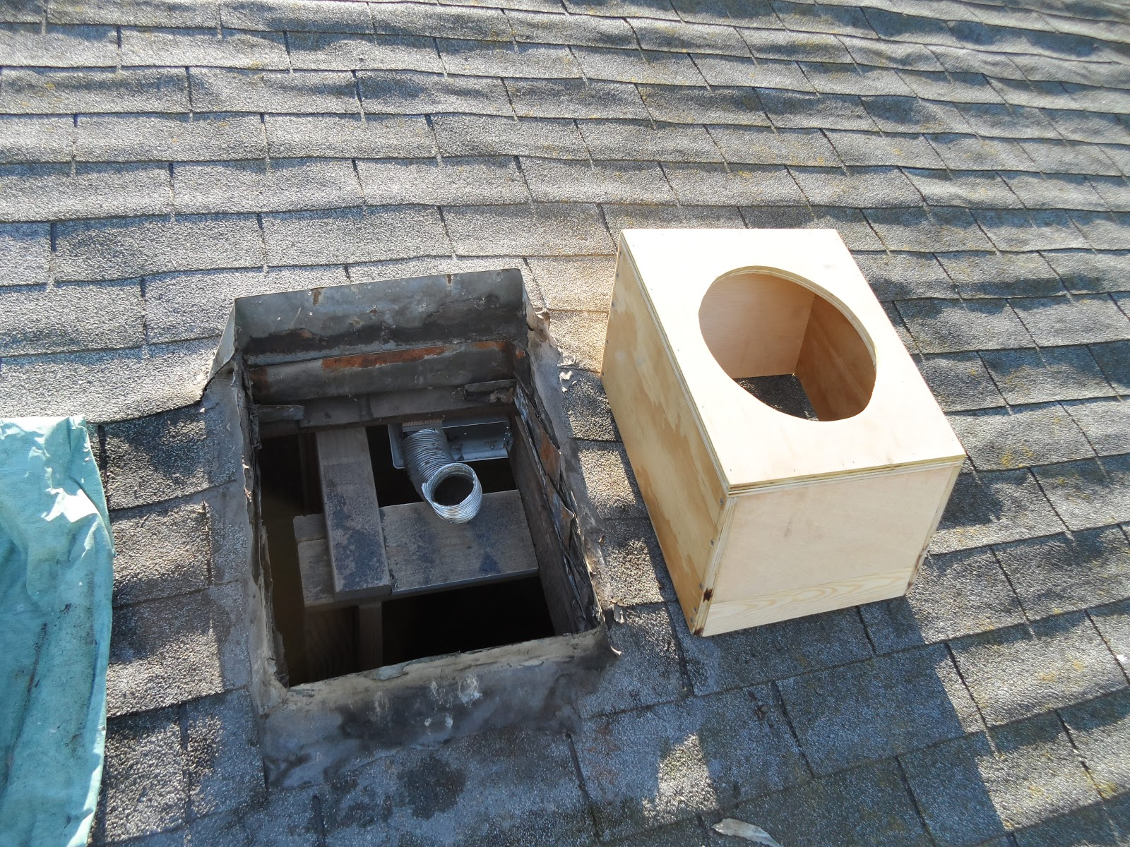 Attic Vent Installed Remodeling 919 W Camile