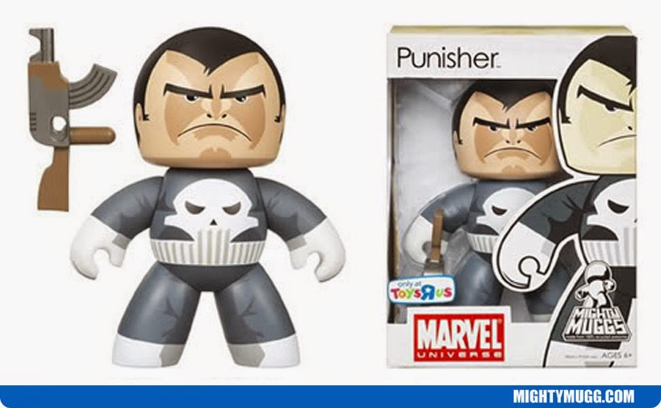Punisher Marvel Mighty Muggs Exclusives