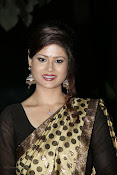 Anchor Shila Chakravarthy latest black saree Photos-thumbnail-5