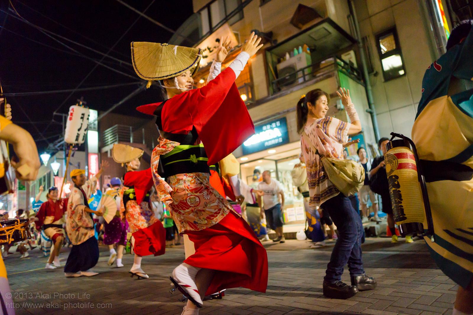 踊れ西八夏まつり、弐穂連の総踊り