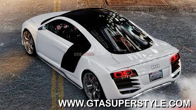DOWNLOAD GTA IV - Audi R8 LeMans