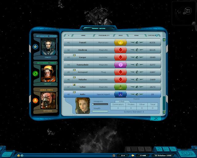 Space Rangers: A War Apart - Special Agent Screenshot