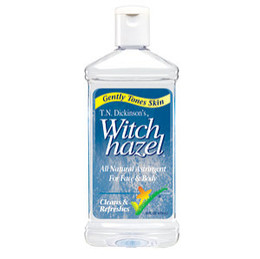 The most popular use for witch hazel is for skin care, since its strong antioxidant and astringent properties are perfect for killing bacteria that lives within skin's pores, stopping cellular damage that can lead to skin cancer, preventing signs of aging, and speeding up healing.