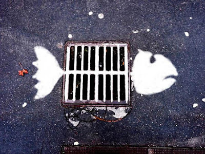 Creatively Placed Street Art Seen On www.coolpicturegallery.us