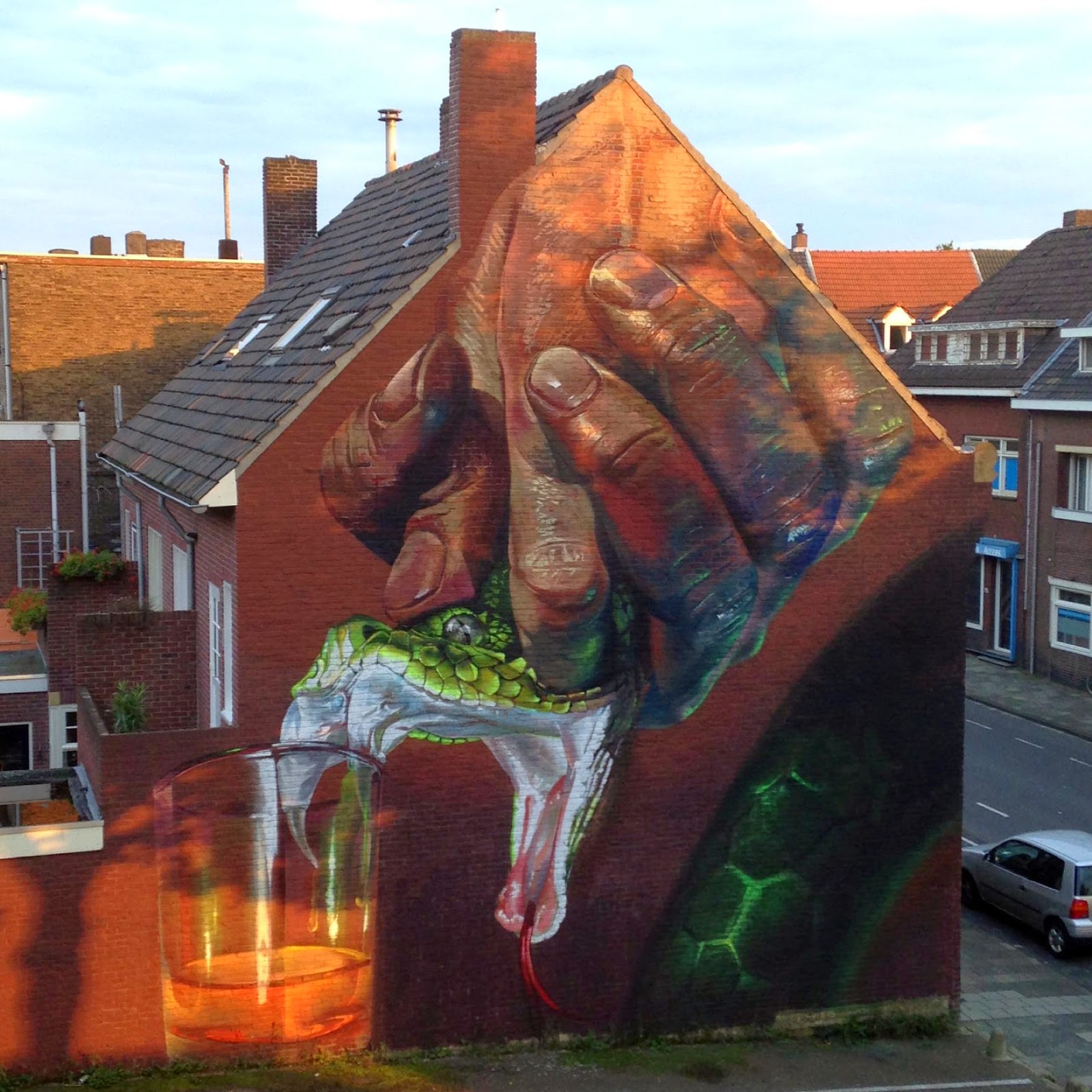 Andreas von Chrzanowski aka Case Ma'Claim is currently in Netherlands where he just wrapped up this new piece on the streets of Heerlen in Netherlands.