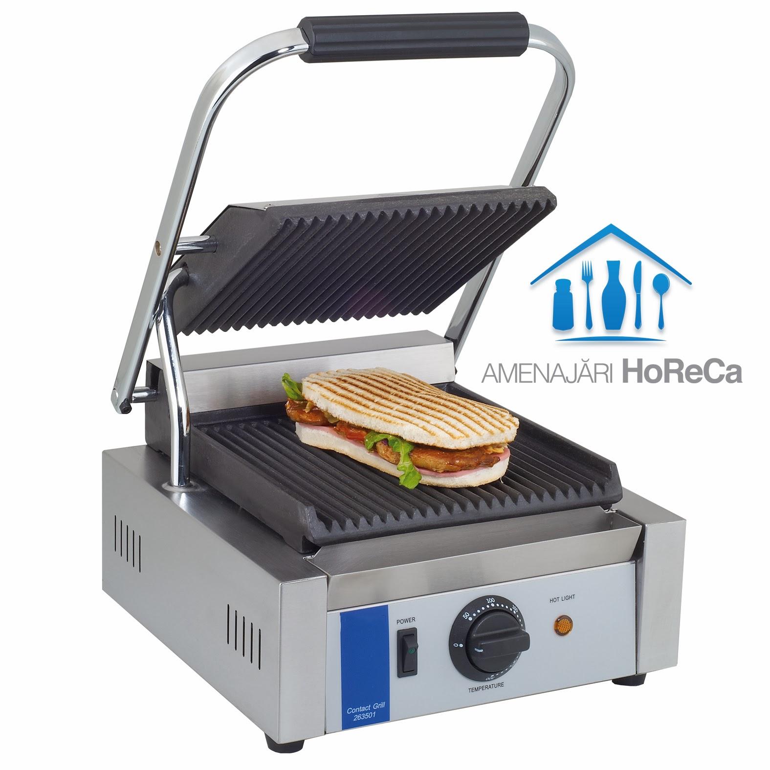 Panini Sandwich, Model Simplu, Utilaje Fast Food, HoReCa
