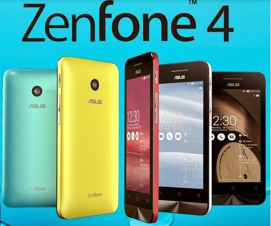 Asus Zenfone 4, smartphone murah tahun ini
