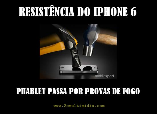 Testes de resistência do iPhone 6