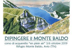 Dipingere Monte Baldo 2019