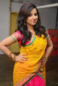 Leema glamorous photos in half saree-thumbnail-9