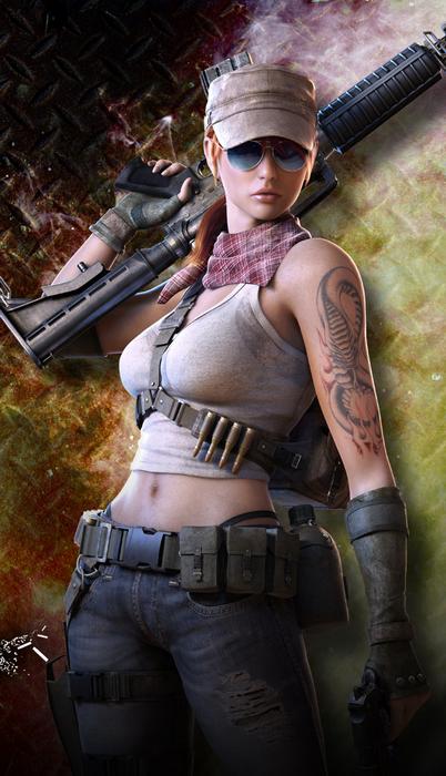 Tokoh Utama Resident Evil Mirip Karakter Free Rebels Point Blank