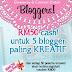 Giveaway Kupon RM20 Setiap Blogger & RM50 Cash untuk 5 Blogger Paling Creatif!