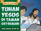 Tuhan Yesus di Taman Getsemani