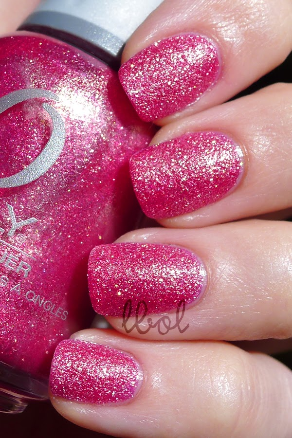Orly Pink Crystal Swatch