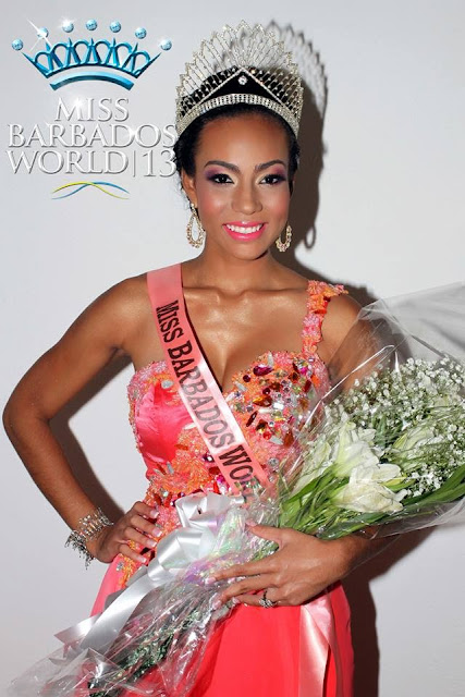 Miss World Barbados 2013 winner Regina Ramjit