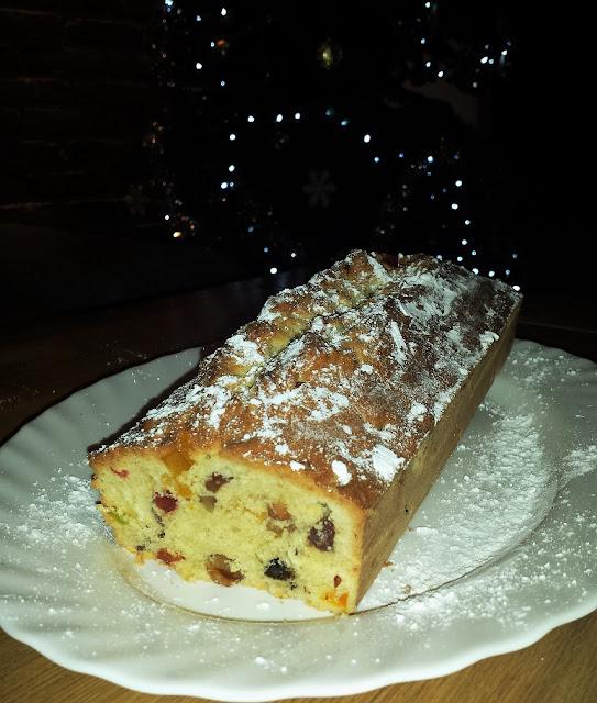 keks świąteczne ciasto bakaliowe