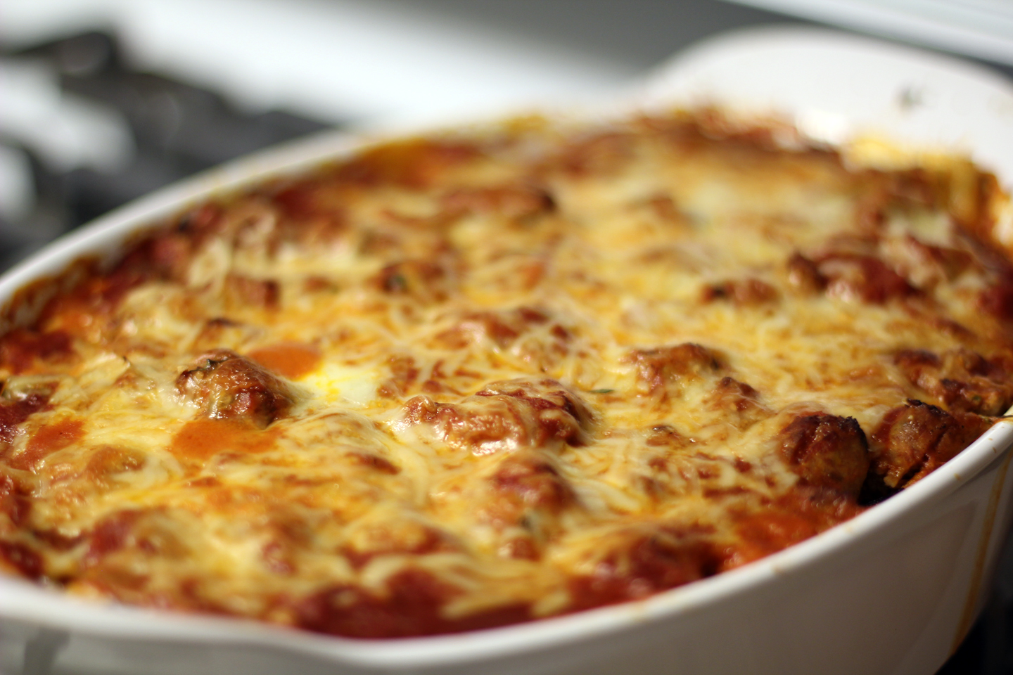 Baked Ziti - adapted from Cooks Illustrated