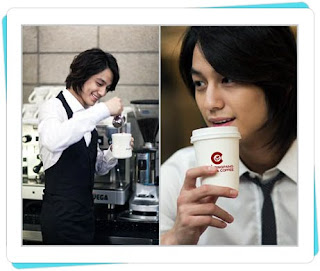 Ring Pang Donut showing Kim Bum as a Barista and gentle Charismatic 4e0d7819be5e6