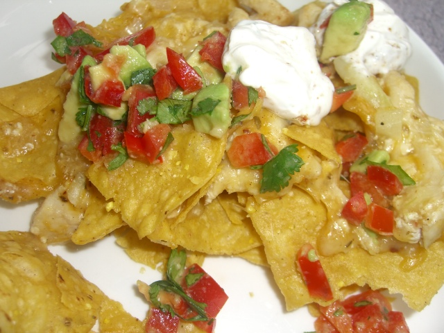 mommypipsqueak: Jerk Chicken Nachos, PC recipe