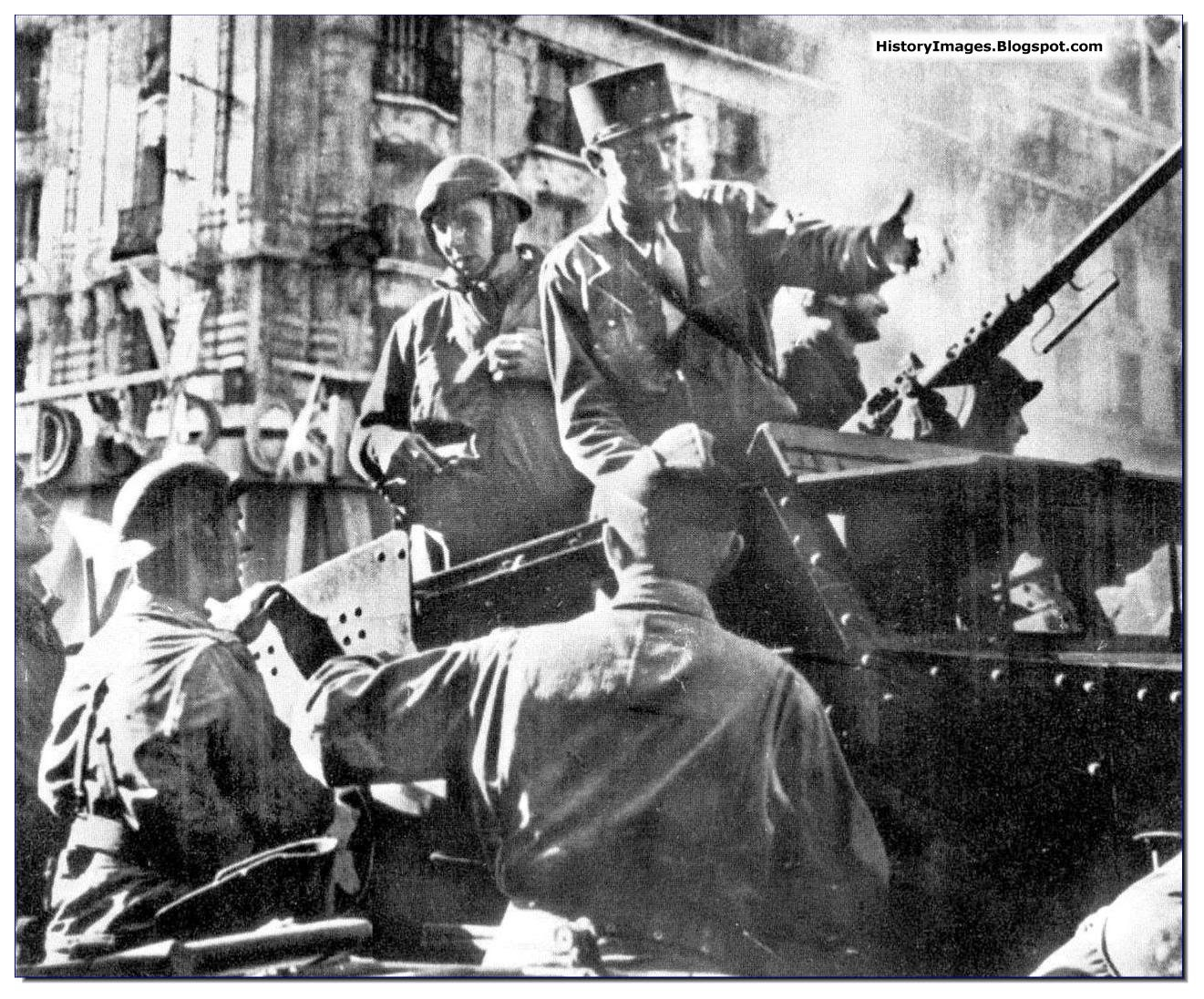 History in images pictures of war history ww2 some - French div 2 ...
