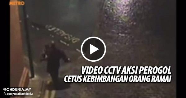 Rakaman CCTV Aksi Perogol