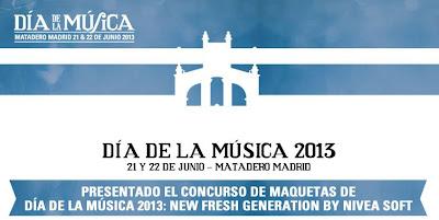 Concurso de Maquetas de Día de la Música 2013