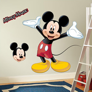 Mickey Mouse Clubhouse Room Decor
