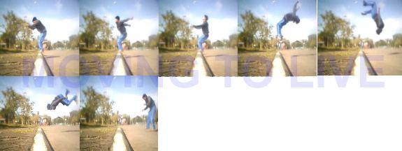 salto belakang
