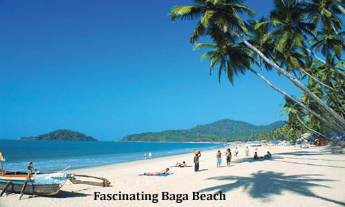 India Travel - Fascinating Baga Beach