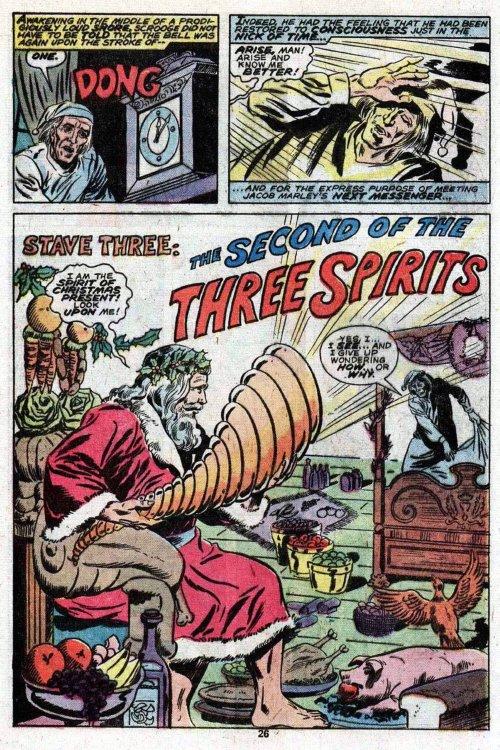 "Atomic Kommie Comics: Holiday Reading Room: A CHRISTMAS CAROL ""Stave Three"""