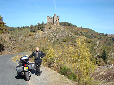 balade moto auvergne margaridou blesle chateau d'alleuze